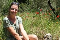 Marie Novotná vidí krásu v každém snítku trávy.