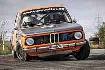 NA RALLY KRKONOŠE nebudou chybět Petr Nešetřil – Hynek Středa s vozem BMW 2002 Ti.