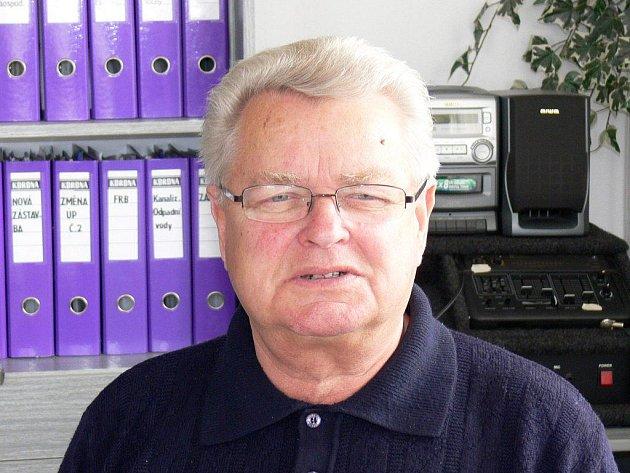 Starosta Slatin Jaromír Styblík.