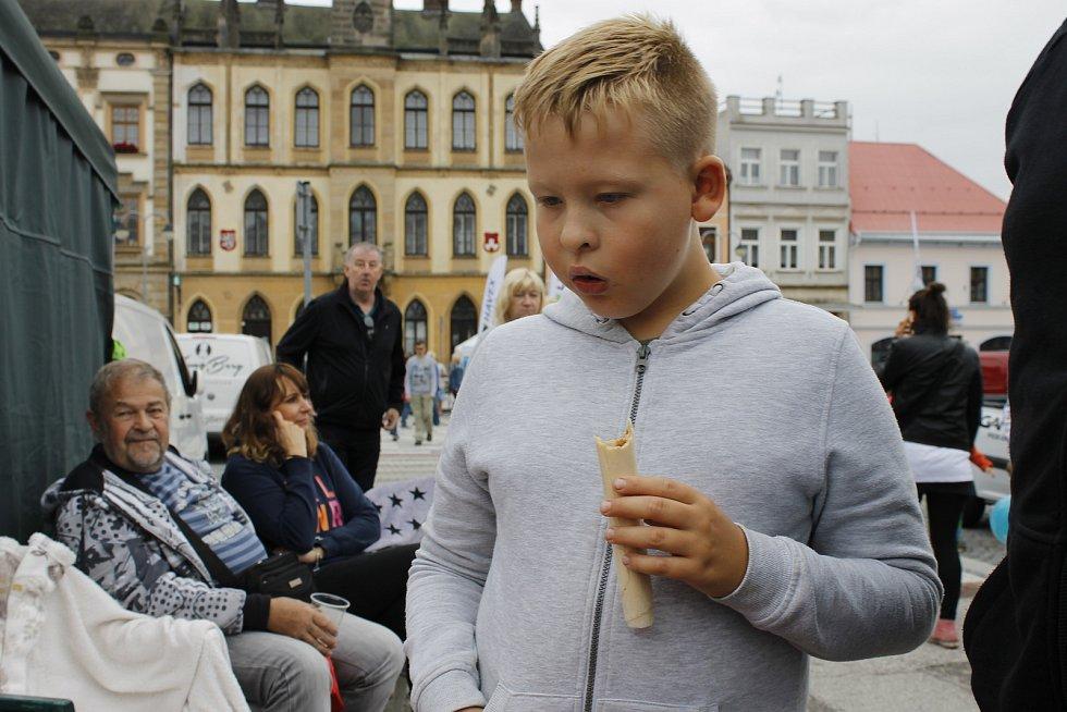 Na Slavnostech Hořických trubiček mlsali malí i velcí.