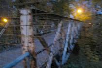 Novopacký most zvaný Dřevěňák.