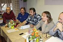 Ustavující schůze třebnouševského zastupitelstva.