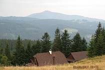 Výhledy z Lysé hory, z trasy Doroťanka - Bumbálka.