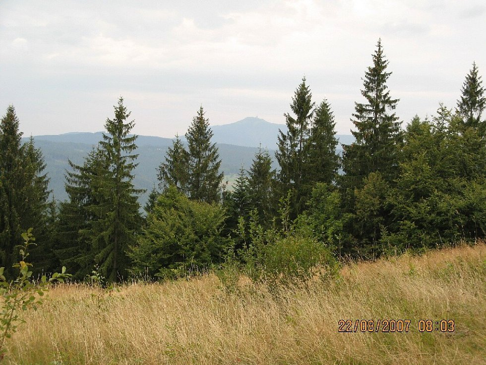 Výhledy z Lysé hory - z trasy Doroťanka - Bumbálka.