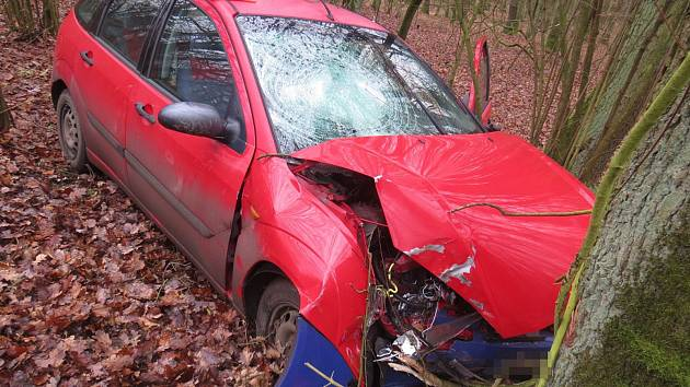 Za dopravní nehodou u Libáně stal zřejmě mikrospánek.