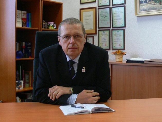 Ředitel společnosti Continental v Jičíně Ladislav Drážný.