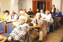 Lednové setkání jičínské radnice s občany.