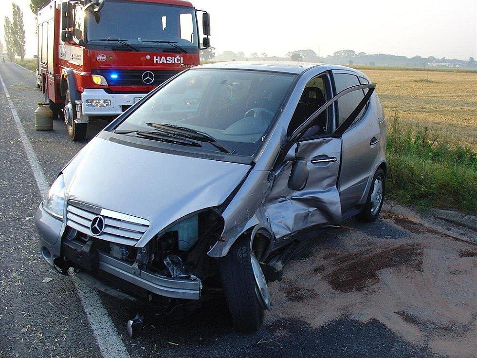 Nehoda při otáčení.