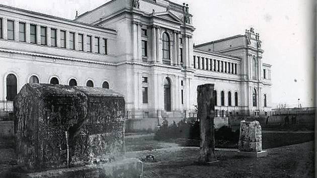 Zemské muzeum v Sarajevu, krátce po dostavbě, z publikace Karel Pařík, 1857 – 1942.