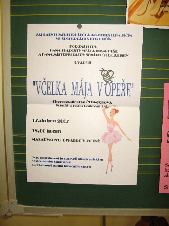 Z oslav v jičínské ZUŠce.