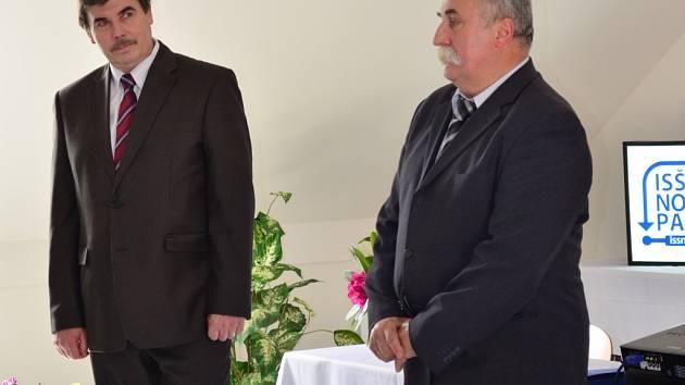 Josef Dvořák a Zbyněk Hruška.