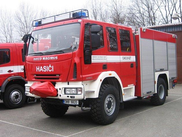 Nová hasičská technika.