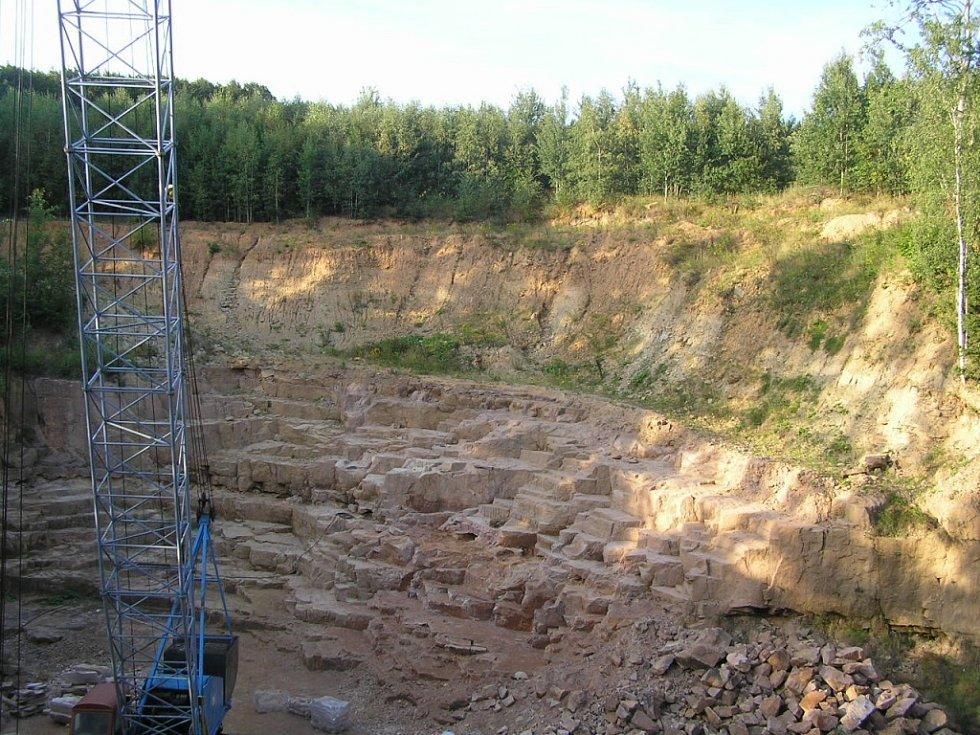 Bělohradský kamenolom Javorka.