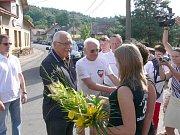 Volejbalová Dřevěnice 2012 s návštěvou prezidenta Václava Klause.