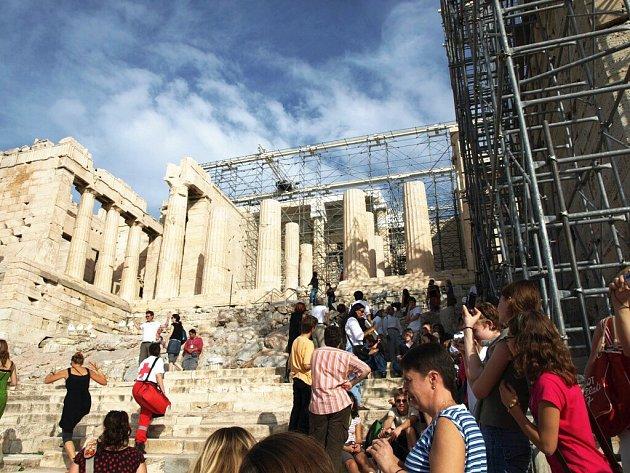Vzhůru na Akropolis...