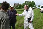 Veterinární lékař Václav Knap informuje o včelím moru na Jičínsku a dalších možnostech řešení nákazy.