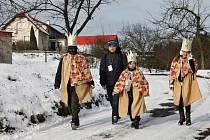 Tři králové ve Štěpanicích.