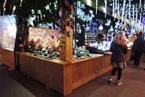 Předvánoční Štrasburk během adventních trhů.