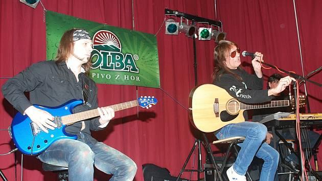 Aleš Brichta koncertoval v Libuni.