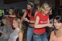 Z finále letošní soutěže Dívka roku 2007, které se konalo v Jičíně.