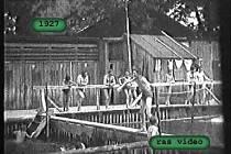 Jičínské koupaliště, rok 1927.