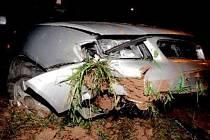 Nehoda opilé řidičky ve Vrchlabí.