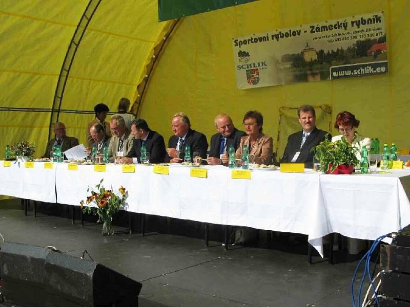 Vesnice roku 2008 - oslavy v Bukvici.