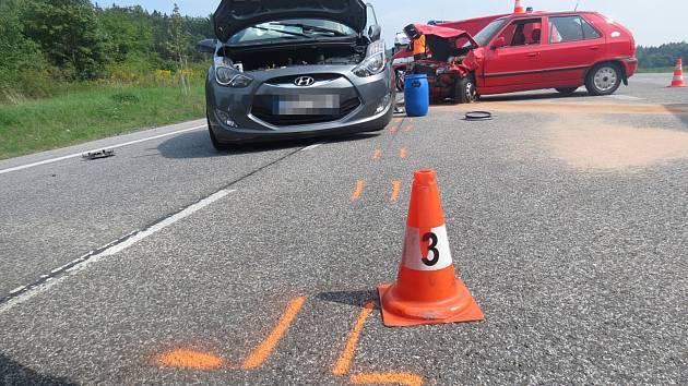 Dopravní nehoda Na Špici.
