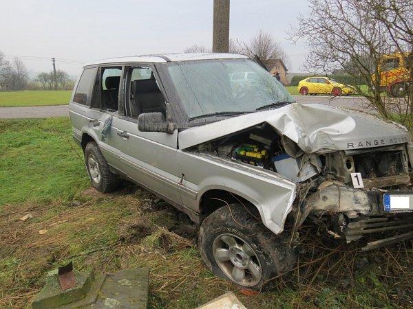 Nehoda roveru uLiběšic.