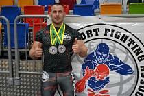 Michal Popelák s dvěma cennými kovy z mistrovství Evropy asociace ISFA.