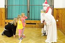Mikulášská návštěva u valdických sokolíků.
