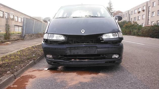 Hořice - dopravní nehoda.