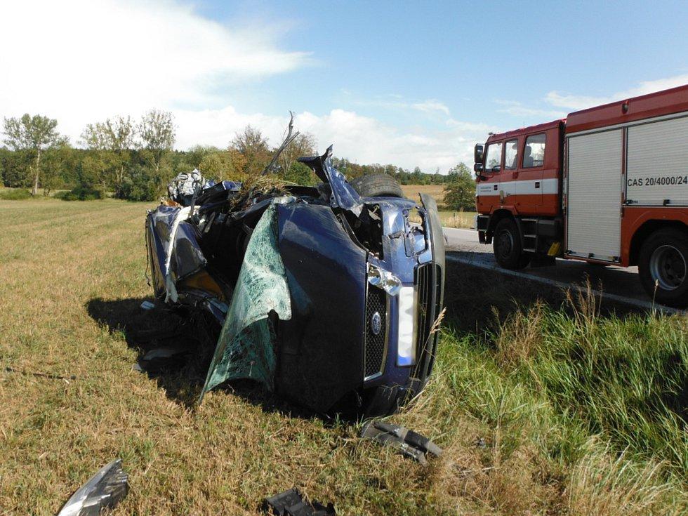 Dopravní nehoda v Miletíně.