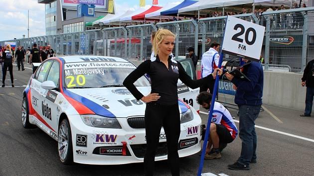 Michal Matějovský na Mistrovství Evropy FIA ETTC.