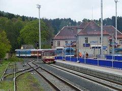 Letos se projektuje modernizace staropackého nádraží. Realizovat se má v letech 2021 a 2022.