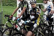Dan Polman a Ondra Mikule (vpředu).