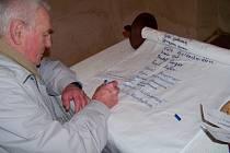 Jména obětí holocaustu.