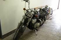 Odcizené a znovunalezené motocykly.