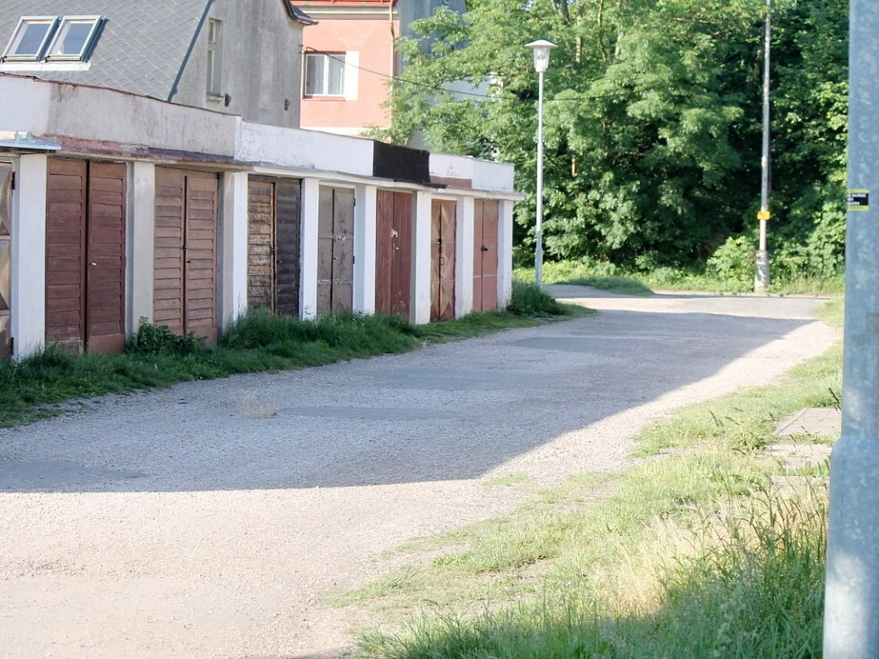 Z jičínské Ruské ulice.