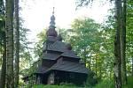 Zakarpatský kostelík v Nové Pace.