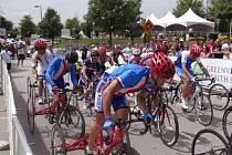 Z mistrovství světa paracyklistů v USA.