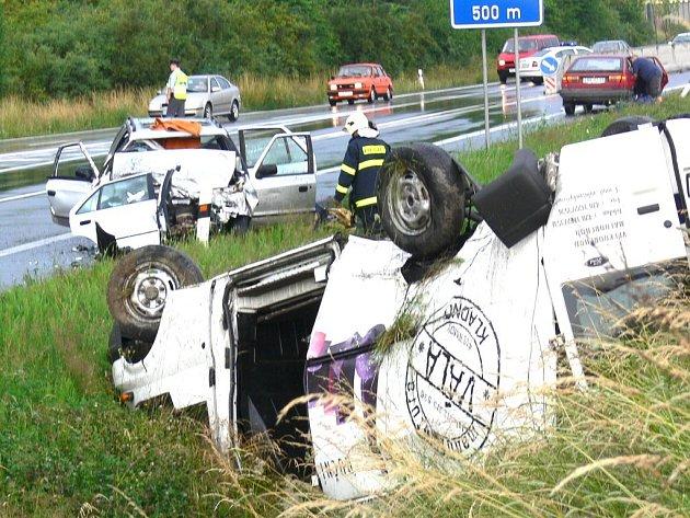 U Robous došlo k vážné dopravní nehodě.