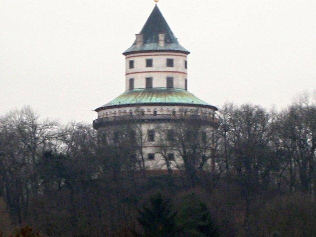 Zámek Humprecht nad Sobotkou.