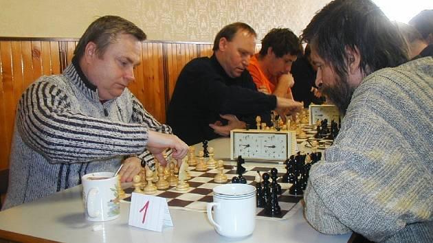 Boj o prvenství - Zdeněk Urban a Jaroslav Fiala.