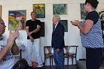 Malíř a architekt Michail Ščigol představuje část tvorby v železnickém muzeu. V bývalém lázeňském městečku, kde 30 let žil, se zrodilo na 500 jeho obrazů. Na výstavě k jeho životnímu jubileu jsou k vidění obrazy věnované jeho druhému domovu - Železnici.