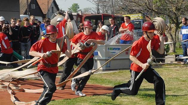 Hasiči soutěžili v Tuři.