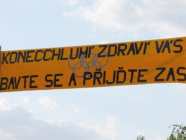Recesistická Olympiáda 2007 v Konecchlumí.