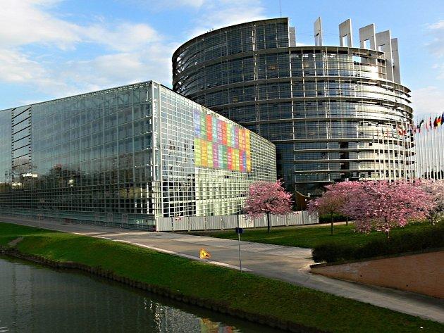 Europarlament ve Štrasburku.