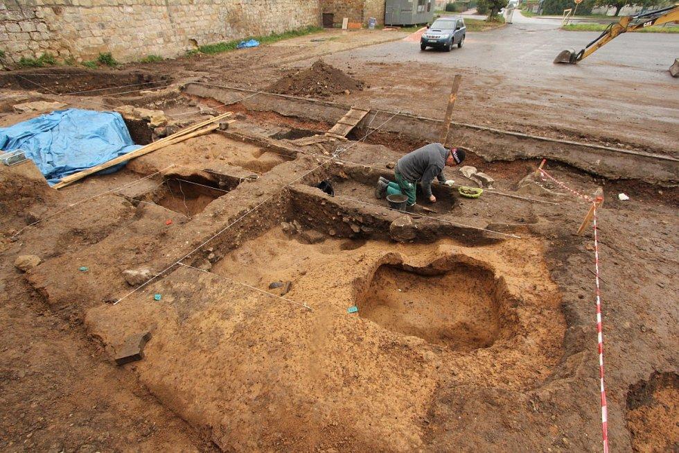 Archeologické nálezy na Talmovce