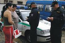 Cizinecká policie v akci.